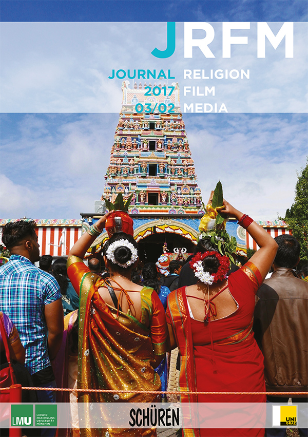 "Cover of JRFM 2017, 3/2 ""Using Media in Religious Studies"""